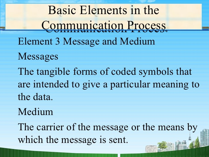 the element of communication which involves the encoding and decoding of messages Communication and information technology chapter 11- the communication process study guide by gregorythomasd includes 71 questions covering vocabulary, terms and more  are more effective.