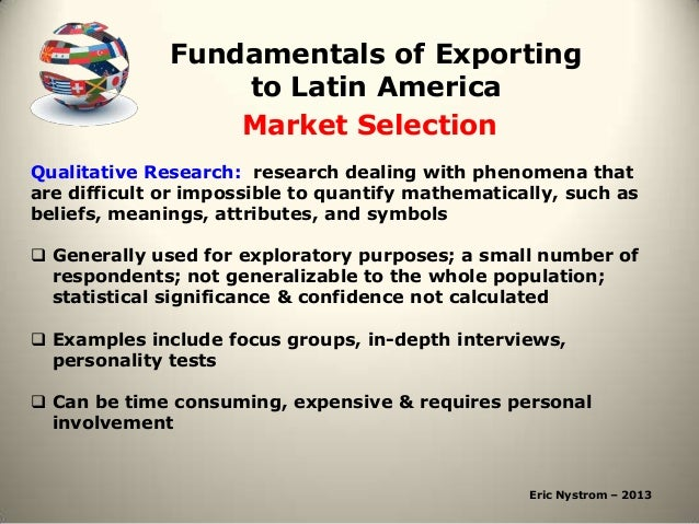 Fundamentals Of Exporting To Latin America