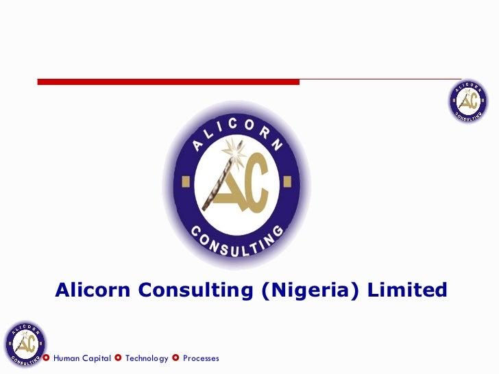 Alicorn Consulting (Nigeria) Limited