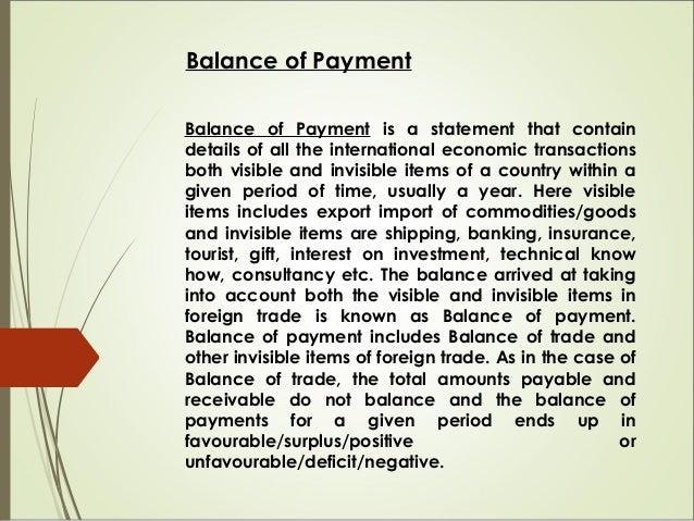 Fundamentals of foreign exchange market