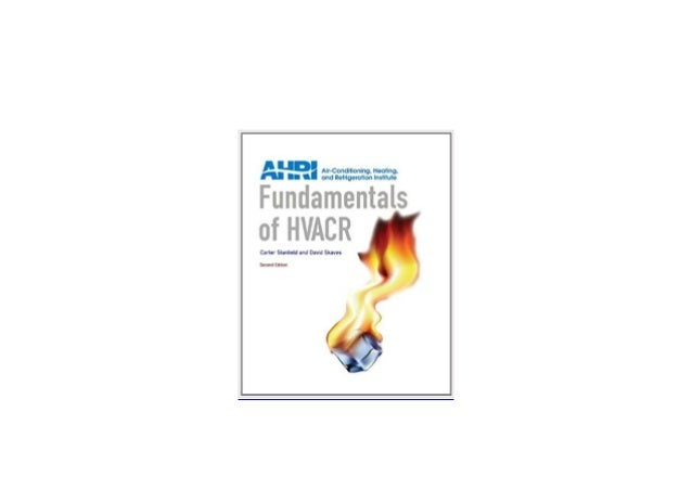 ((Download)) library^^@@ Fundamentals of HVACR 2nd Edition