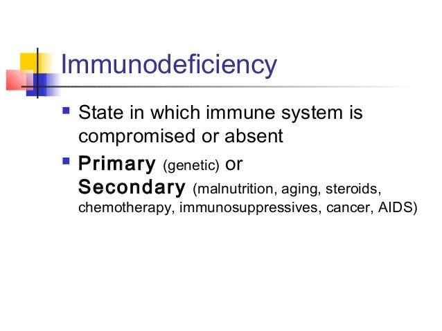 Fundamentals of immunity