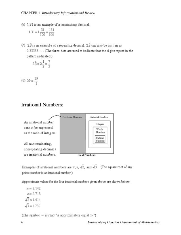 business math formulas pdf