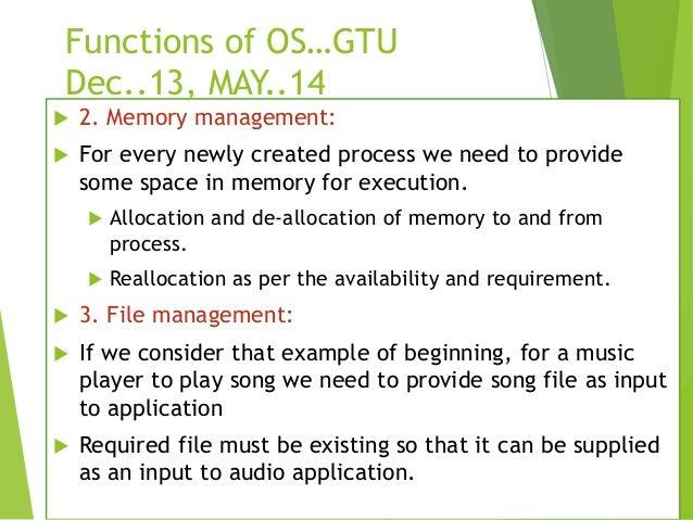 fundamentals of operating system pdf