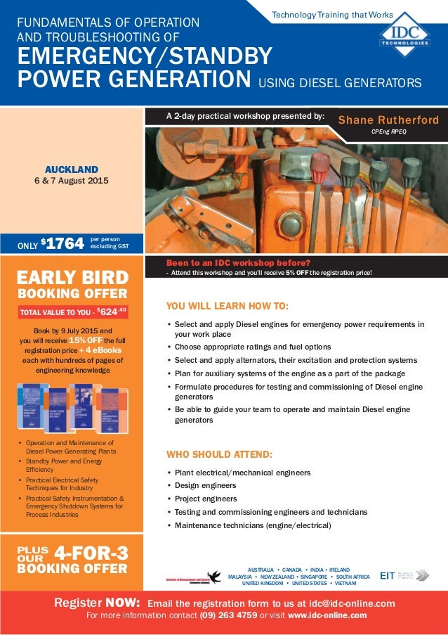 Generator systems diesel ebook auxiliary and instruments