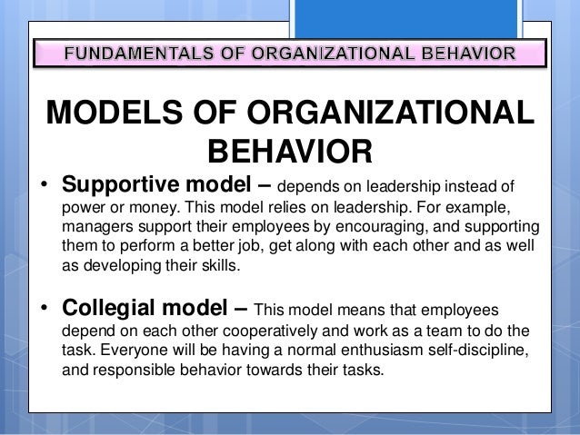 organizational behaviour high performance team Organizational behavior and development michael beer harvard university organizational studies is a fragmented field its foundations are the disciplines of.