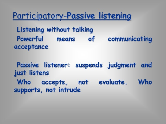 Surface-Depth listening  Obvious/surface/literal meaning  (Surface level communication)  What they are saying?