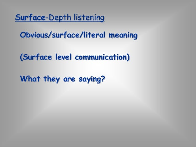 """""""TECHNIQUES OF EFFECTIVE  LISTENING""""  Active listening intentionally focuses on  who you are listening to, whether in a  g..."""