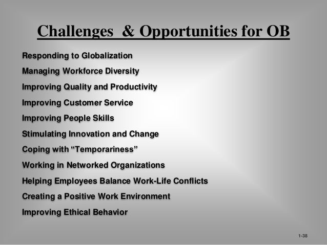 42  OB Insights  Improving People Skills  Improving Customer Service  Empowering People  Working in Networked Organization...