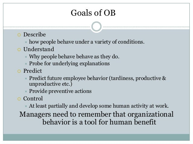 analysis of organizational behaviors in glengarry Organizational behavior is the study and application of knowledge about how people compare analysis (relate analysis to original hypothesis.