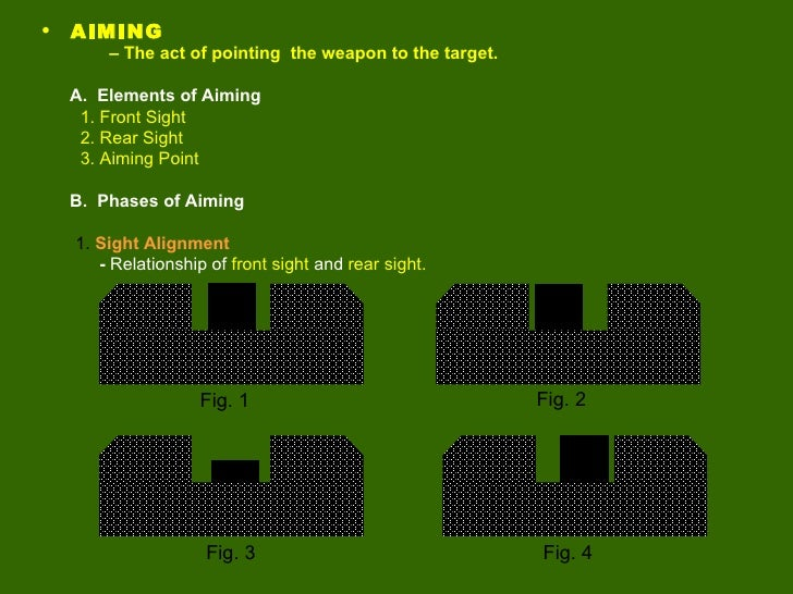 The Four Basics of Gun Safety