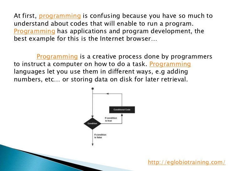 fundamentals of programming Programming paradigms: the different language paradigms developed over the years are developed due to the developer's different mind-set of what to emphasize, data or functions object-oriented languages are more inclined to think that everything in the universe is an object.