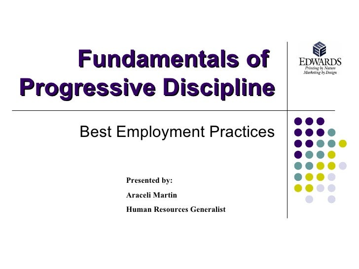 Pros and Cons of a Progressive Discipline Program