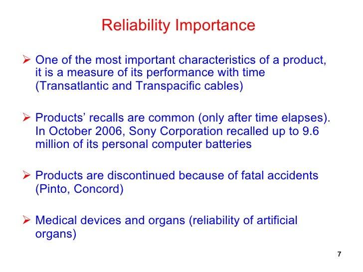 fundamentals  reliability engineering  applications partof