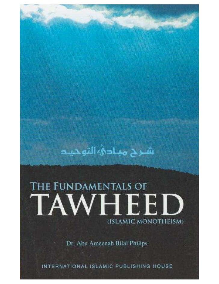 Fundamentals of Tawheed bilal philips