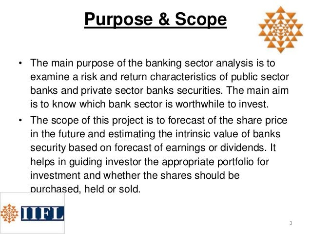 portfolio analysis in the banking sector Financial analysis • reporting – the portfolio manager will be responsible for reporting on the overall portfolio, including and not limited to assessing asset quality, stress testing, industry and market analysis, asset allocation, reserves and non-performing loan analysis • projects – the portfolio manager may from time to time.