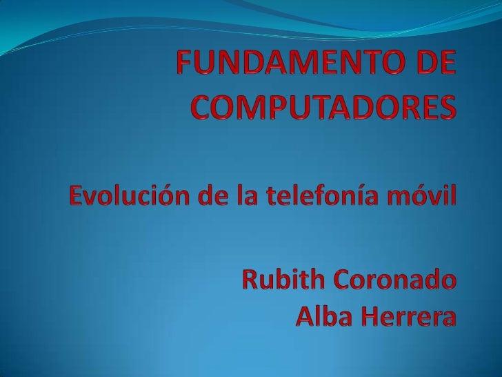 Fundamento de computadores