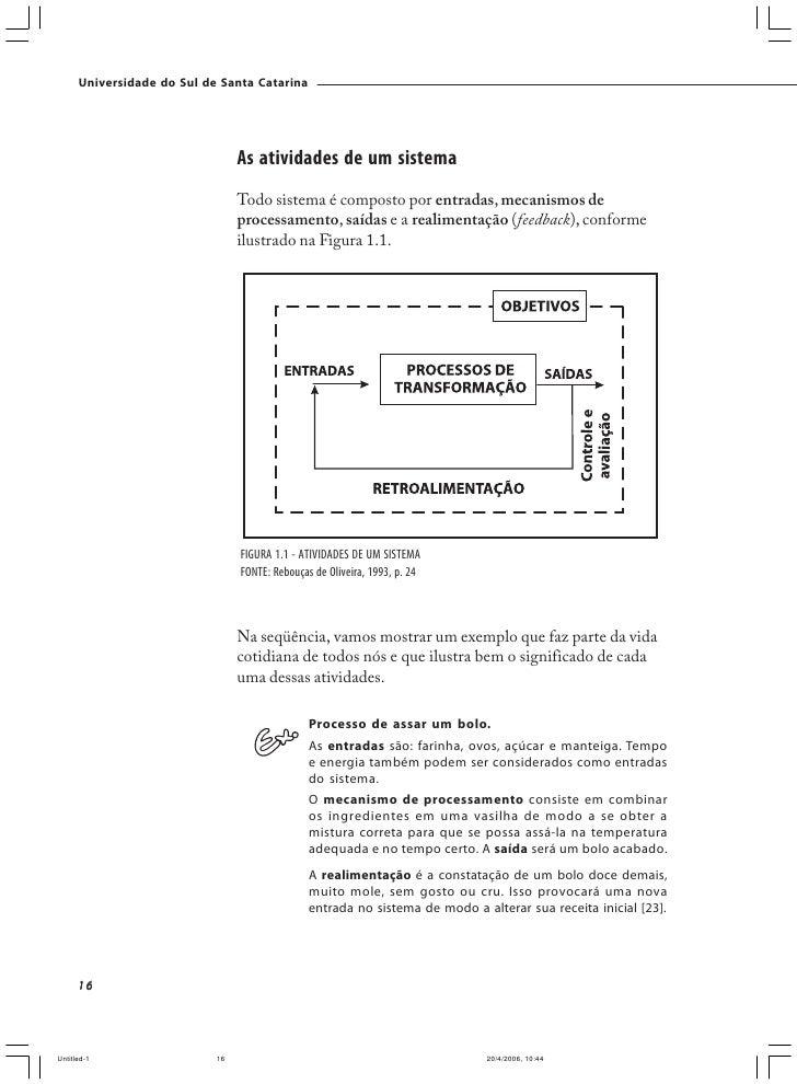Universidade do Sul de Santa Catarina                                             entrada – em sistemas de informação a en...