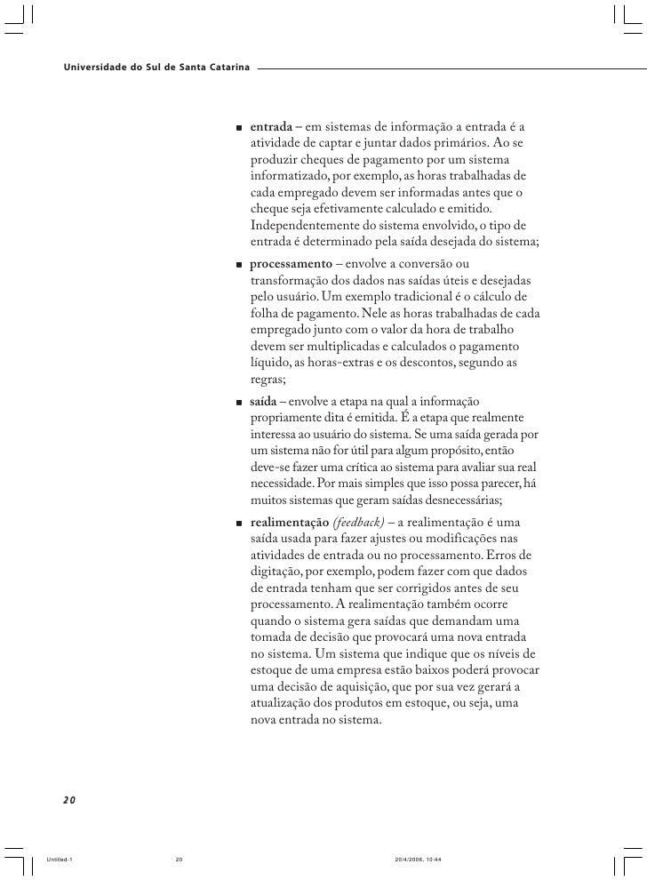 Universidade do Sul de Santa Catarina                                                  Para refletir                      ...