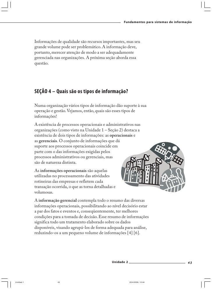 Fundamentos para sistemas de informação     3. Libere sua criatividade e proponha pelo menos uma melhoria   que o Sr. Joaq...