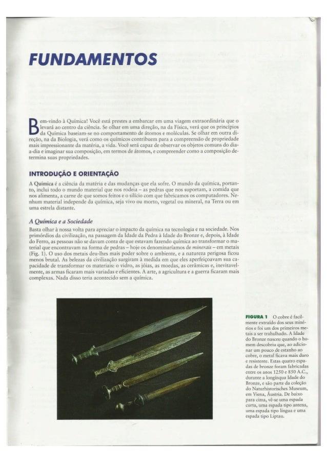 Princípios de Química - Fundamentos