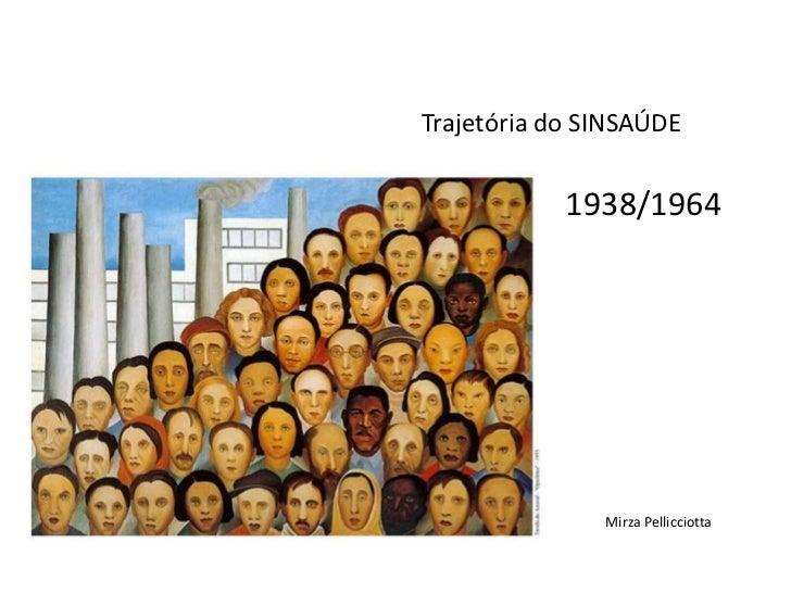 Trajetória do SINSAÚDE            1938/1964               Mirza Pellicciotta