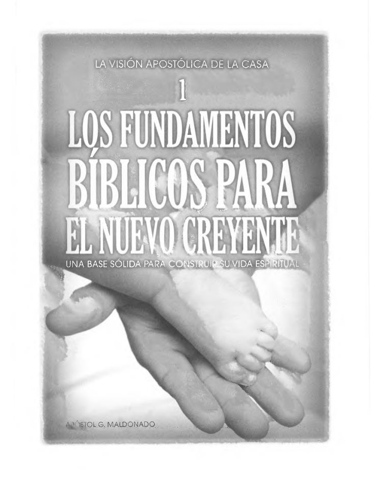 Fundamentos biblicos para o novo crente