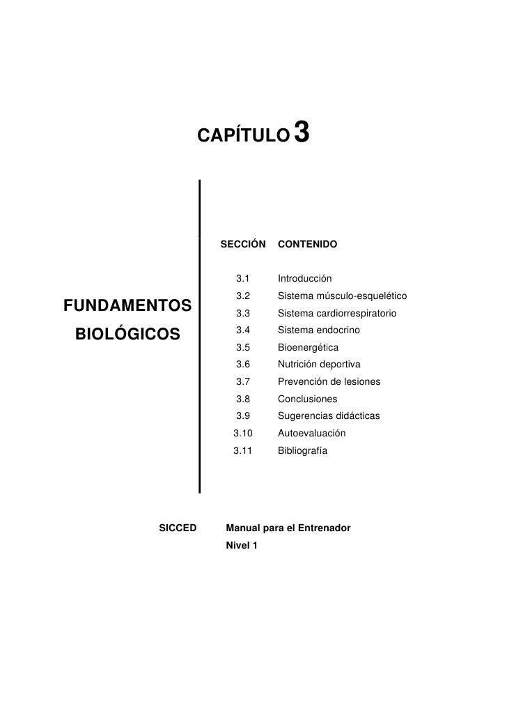 3                  CAPÍTULO                        SECCIÓN   CONTENIDO                        3.1     Introducción        ...