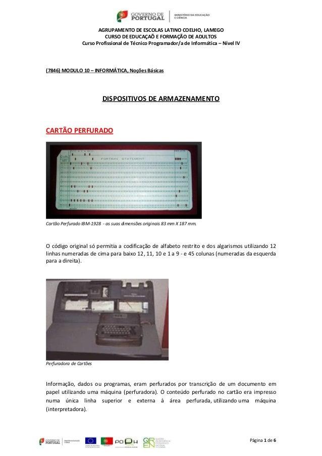 AGRUPAMENTO DE ESCOLAS LATINO COELHO, LAMEGO CURSO DE EDUCAÇAÕ E FORMAÇÃO DE ADULTOS Curso Profissional de Técnico Program...