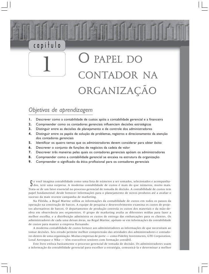 capítulo                                     O PAPEL DO         1                           CONTADOR NA                   ...