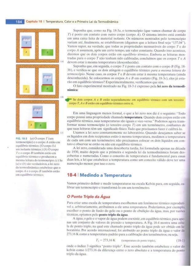 Fundamentos de física, 8. ed, vol. 2 (termo)