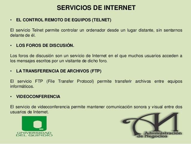 PROTOCOLOS DE INTERNET El TCP / IP es la base del Internet que sirve para enlazar computadoras que utilizan diferentes sis...