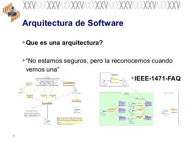 Fundamentos De La Arquitectura Del Software