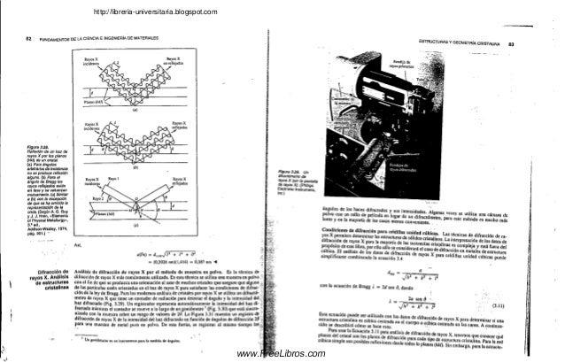 Fundamentos de la ciencia e ingeniería de materiales 3ra