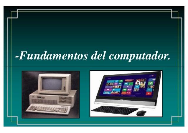 -Fundamentos del computador.