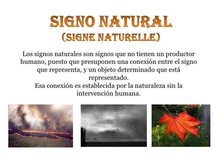 Que Son Los Sinbolos Naturales | clasificaci 243 n de signos