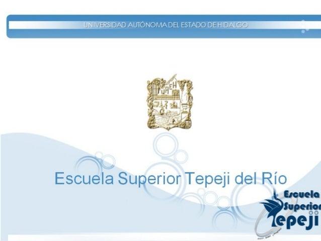 Área Académica: Tepeji del Río Asignatura: Fundamentos de Mercadotecnia Profesor(a): Lic. Leticia Montes de Oca Bárcenas P...