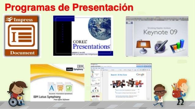 Programas de Presentación