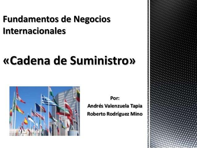 Por:Andrés Valenzuela TapiaRoberto Rodríguez Mino