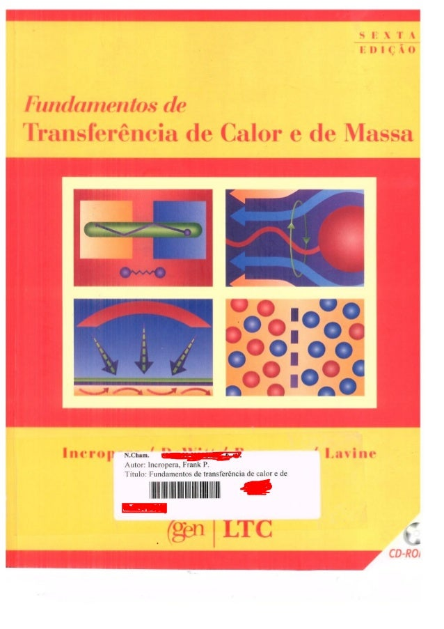 Fundamentos de transferência de calor e massa - UniNassau Alunos