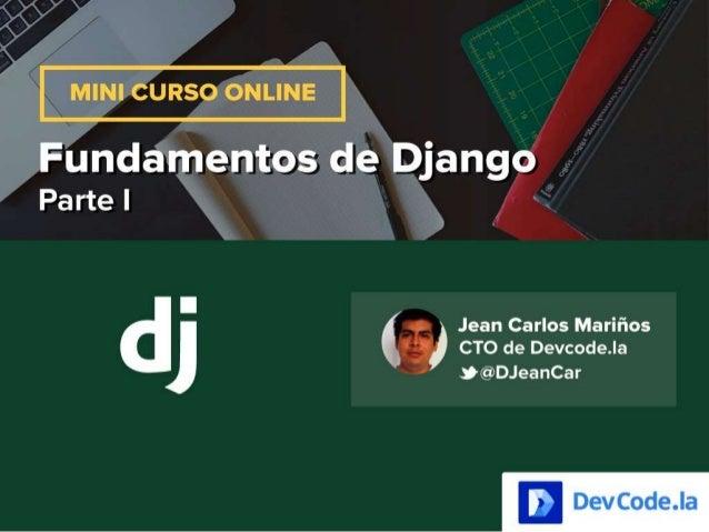 Fundamentos de Django: Mini curso gratuito
