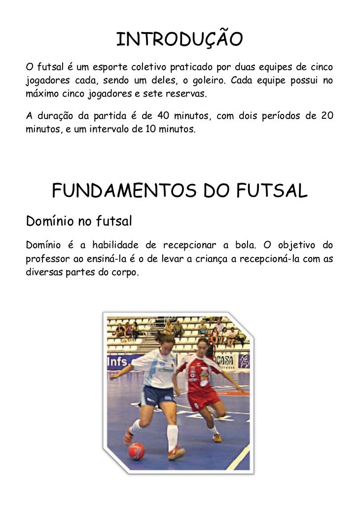 c741e2db68574 Fundamentos do Futsal