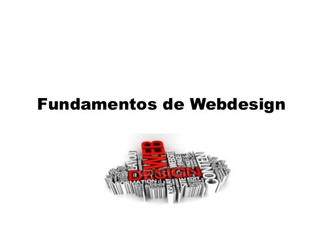 Fundamentos de Webdesign