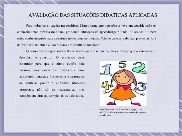 Metodologia para trabalhar matematica