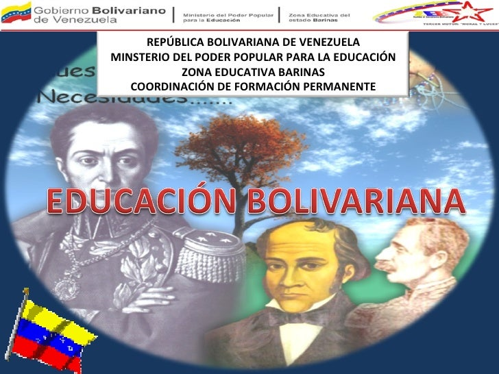 REPÚBLICA BOLIVARIANA DE VENEZUELA MINSTERIO DEL PODER POPULAR PARA LA EDUCACIÓN ZONA EDUCATIVA BARINAS COORDINACIÓN DE FO...
