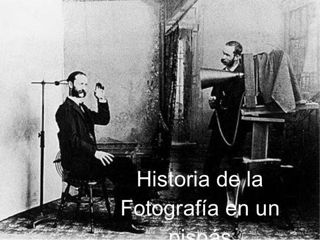 Historia de la Fotografía en un