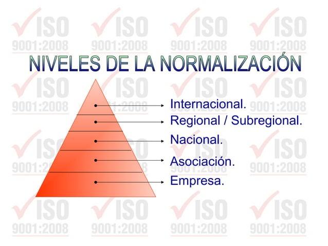 • Unificar el lenguaje técnico. • Proporcionar datos técnicos indispensables para las estrategias industriales y comercial...