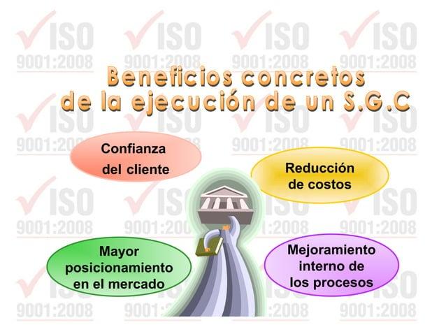 ISO 9000:2005 Sistemas de Gestión de la Calidad. Fundamentos y vocabulario ISO 9001:2008 Sistemas de Gestión de la Calidad...