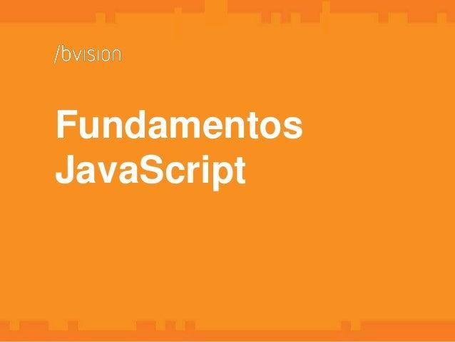 Fundamentos JavaScript