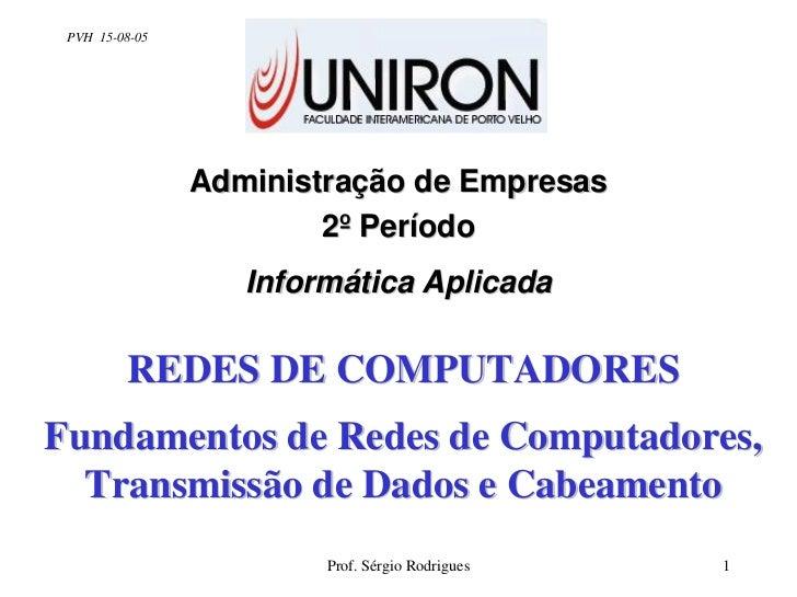 PVH 15-08-05                     Administração de Empresas                         2º Período                    Informáti...